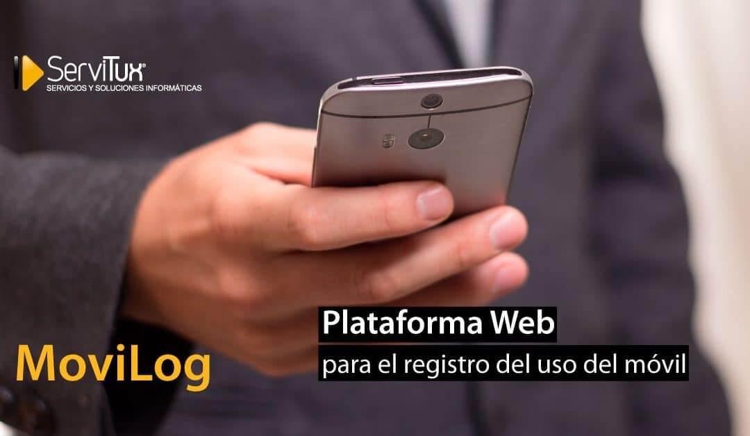 Plataforma MoviLog para el registro del uso del móvil