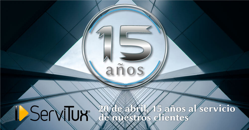 20 de abril de 2019, decimoquinto aniversario de Servitux