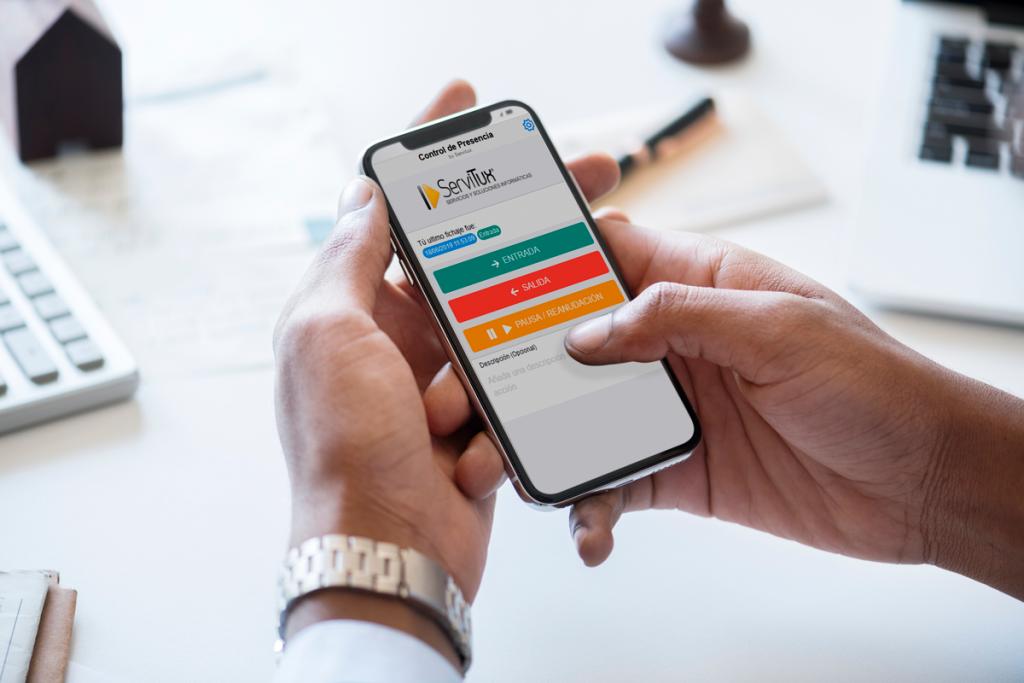 App para fichar con el teléfono móvil